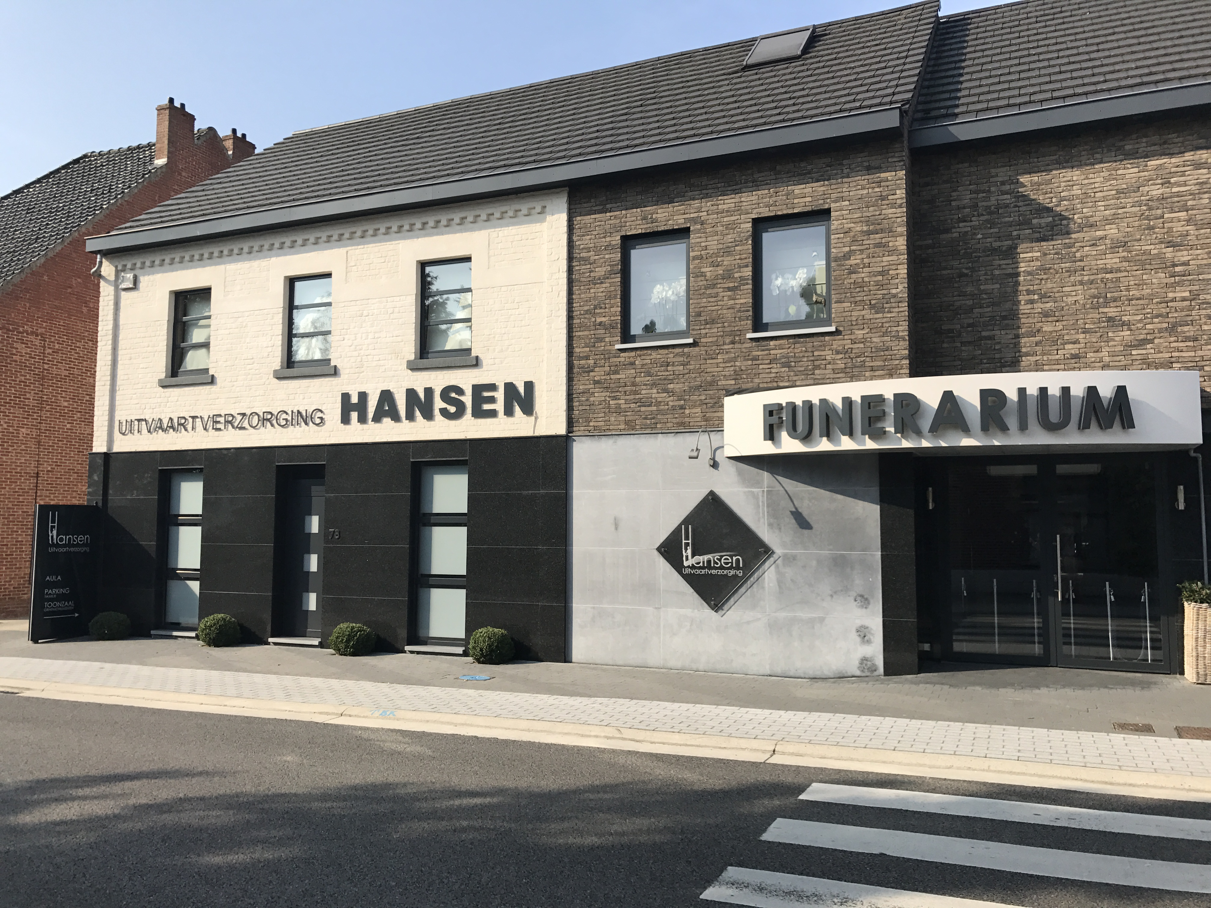 Liviau installed at Funeral Home Hanssen Audio video Lighting integration